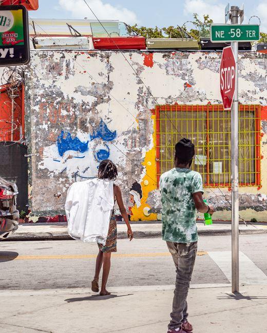 Street Crossing in Little Haiti by Anastasia Samoylova contemporary artwork