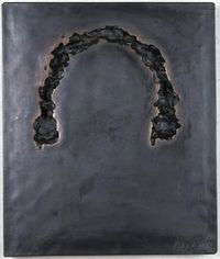 Phase of Nothingness-Black No. 18 (A) by Sekine Nobuo contemporary artwork sculpture