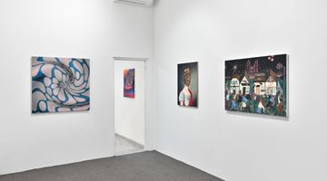Contemporary art exhibition, Group Exhibition, Chorus organised with Bill Powers at Almine Rech, Rue de Turenne, Paris