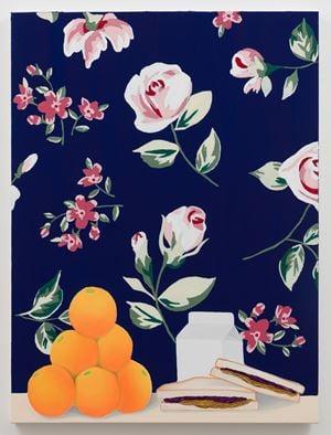 Oranges, PB&J, and Milk by Alec Egan contemporary artwork painting