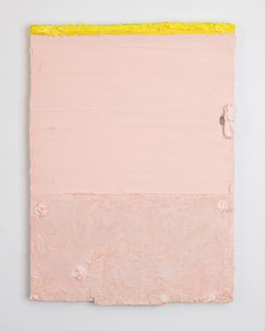 Untitled (peach) by Louise Gresswell contemporary artwork