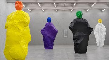Contemporary art exhibition, Ugo Rondinone, nuns + monks at Galerie Eva Presenhuber, Maag Areal, Zürich, Zurich