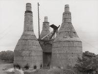 Lime Kiln [Kalköfen], Ten Boer, NL by Bernd & Hilla Becher contemporary artwork photography