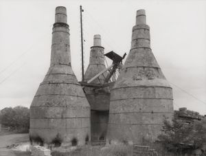 Lime Kiln [Kalköfen], Ten Boer, NL by Bernd & Hilla Becher contemporary artwork