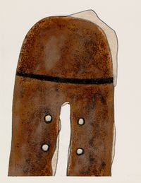 A Worn Shoe by Irving Penn contemporary artwork works on paper