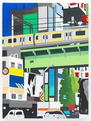 Akihabara with Naoki by Brian Alfred contemporary artwork painting