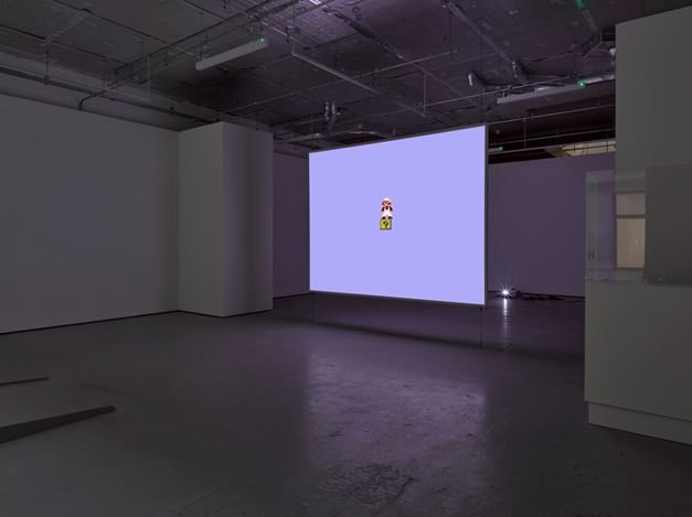 Exhibition view: Cory Arcangel, Totally Fucked, Lisson Gallery, London (12 November–19 December 2020). © Cory Arcangel. Courtesy Lisson Gallery.