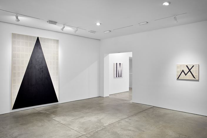 Exhibition view:Tim Rollins and K.O.S., Workshop, Lehmann Maupin, West 22th Street, New York (18 April–15 June 2019). Courtesy the artist and Lehmann Maupin, New York, Hong Kong, and Seoul.Photo: Matthew Herrmann.