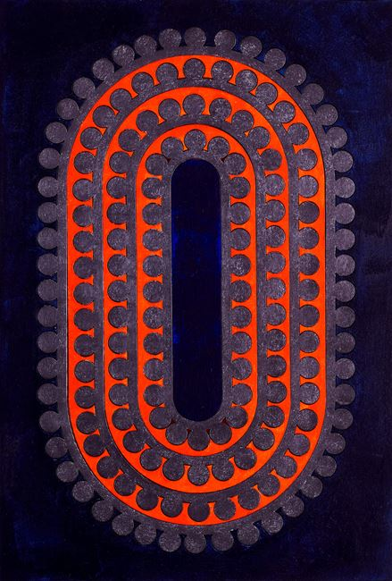 Code 29 by Lubna Chowdhary contemporary artwork