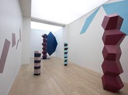"Angela Bulloch<br><em>One way conversation...</em><br><span class=""oc-gallery"">Simon Lee Gallery</span>"