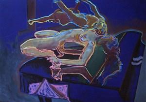Flügel by Norbert Tadeusz contemporary artwork painting