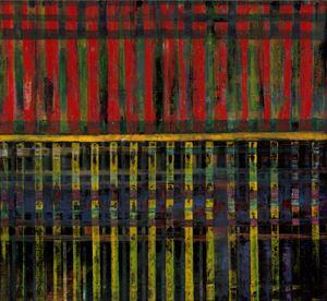 中國建築系列-窗格 Chinese Architecture Series-Window Panes by Wei-Jane Chir contemporary artwork
