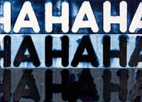 Ha Ha Ha by Mel Bochner contemporary artwork painting