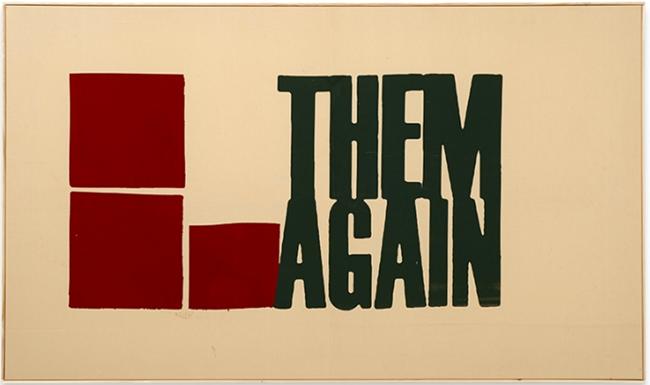 Die Schon Wieder by Walter Dahn contemporary artwork
