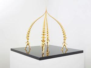 Karma (4 columns) by Do Ho Suh contemporary artwork