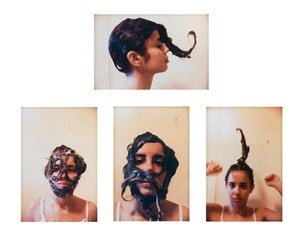 Untitled (Cosmetic Facial Variations) by Ana Mendieta contemporary artwork
