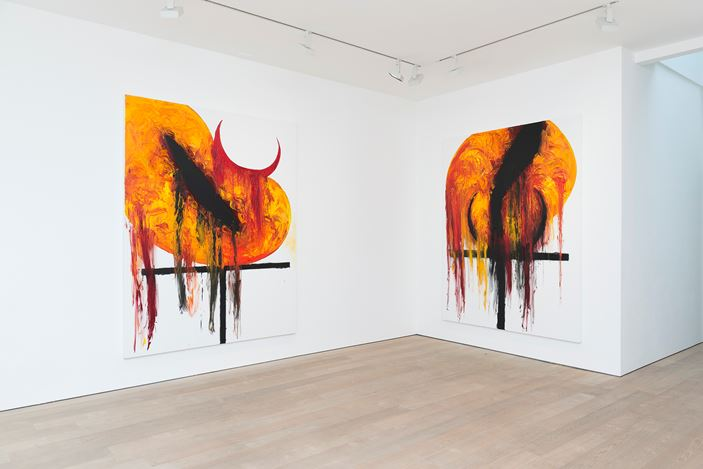 Exhibition view: Anish Kapoor, Lisson Gallery, Bell Street, London (15 May—22 June 2019). © Anish Kapoor. Courtesy Lisson Gallery. Photo: Dave Morgan.
