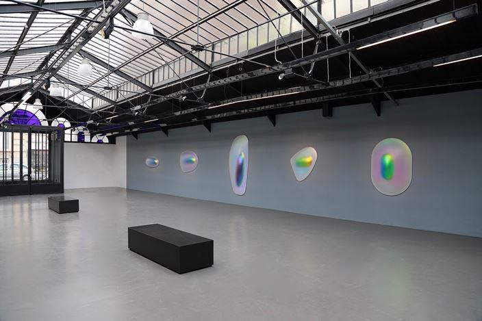 Exhibition view: Gisela Colon,Hyper-Minimal, La Patinoire Royale – galerie Valérie Bach, Brussels (26 April–27 July 2019). Courtesy La Patinoire Royale – galerie Valérie Bach. Photo: © Eric Minh Swenson.