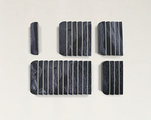 Mnemonic 1, 4, 5, 6, 12 by Genevieve Chua contemporary artwork