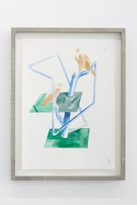 Untitled (#4) by Vikenti Komitski contemporary artwork painting, works on paper