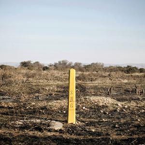 Landmark, Troya, former Kwandebele by Thabiso Sekgala contemporary artwork