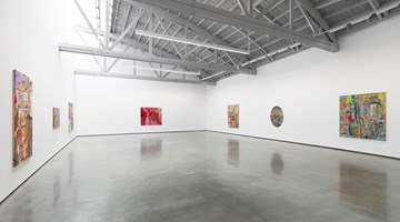 Contemporary art exhibition, Ivan Morley, Olvera St. at David Kordansky Gallery, Los Angeles
