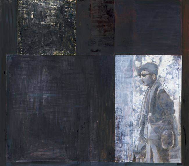 My Father (black) 被遮蔽的現實 by Sawangwongse  Yawnghwe contemporary artwork