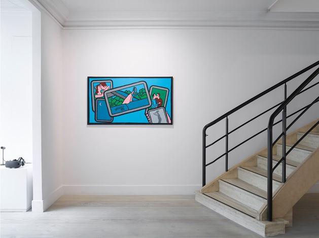 Exhibition view: Derek Boshier,On the Road, Gazelli Art House, London (6 October–18 November 2017). Courtesy the artist and Gazelli Art House, London.