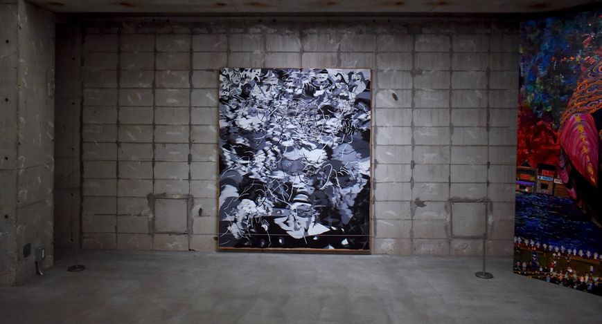 Exhibition view: Group exhibition,Approaches to Painting - reprise, curated by Yoichi Umezu, √K Contemporary, Tokyo (16–31 January 2021). Courtesy √K Contemporary.