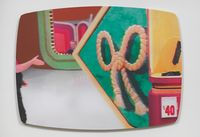 40 Dollars by John Miller contemporary artwork painting