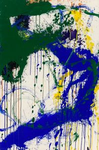 Untitled by Norman Bluhm contemporary artwork painting, works on paper