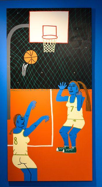 Basketball by Claudia Kogachi contemporary artwork