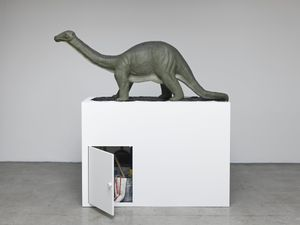 Brontosaurus by Mark Dion contemporary artwork sculpture