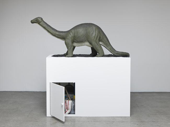 Brontosaurus by Mark Dion contemporary artwork