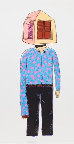 I am a worker 2 by Eko Nugroho contemporary artwork