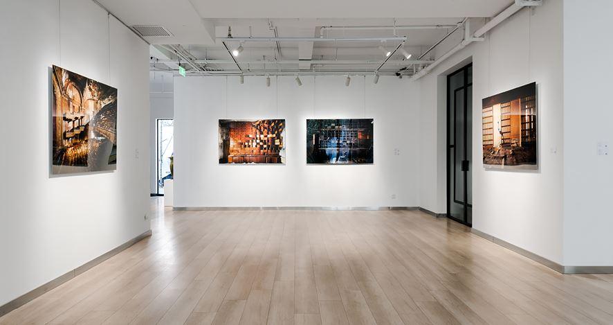 Exhibition view: Henk van Rensbergen, No Man's Land,Galerie Dumonteil, Shanghai (15 January–27 February 2021).CourtesyGalerie Dumonteil.