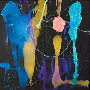 He was so afraid of close contact he invented mysterious skin ailments he profusely talked about by Dale Frank contemporary artwork