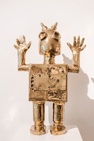 Stux Bot by Mia Fonssagrives Solow contemporary artwork