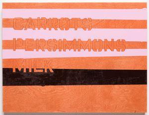 Shopping List by Patrick Chamberlain contemporary artwork