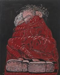 Sleeping by Philip Guston contemporary artwork painting