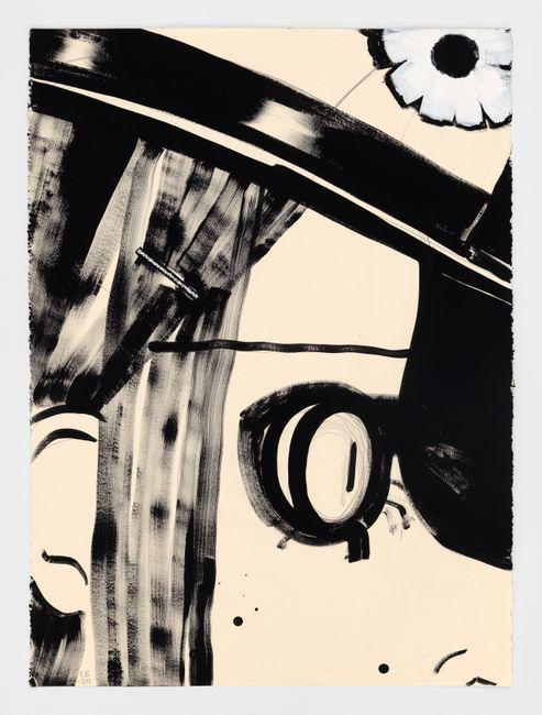 Mouchette by Ellen Berkenblit contemporary artwork