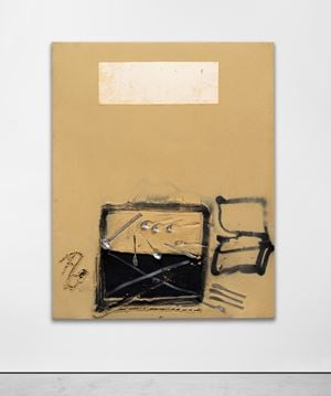 Coberts by Antoni Tàpies contemporary artwork
