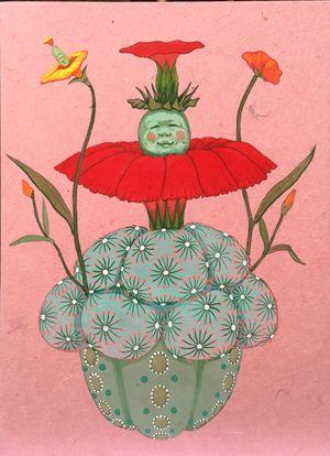 Origin of desire - good energy - by Mari Ito contemporary artwork