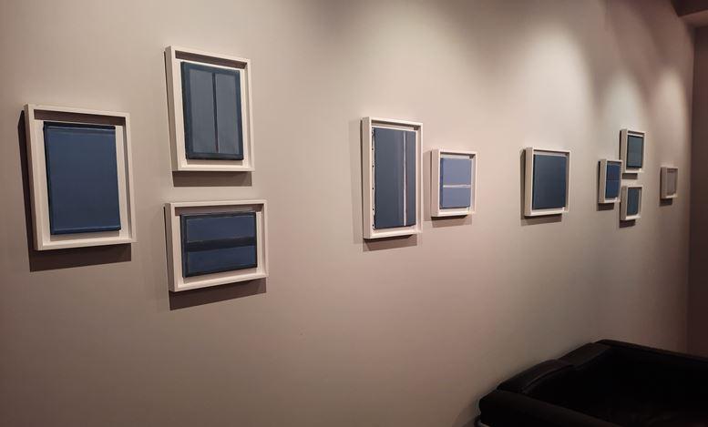 Exhibition view:Geneviève Asse, Galerie Laurentin, Brussels (13 November 2020–13 February 2021). Courtesy Galerie Laurentin.