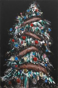Christmas Tree 圣诞树 by Chen Xiaoyun contemporary artwork painting