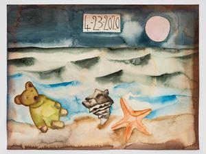 4-23-2020 by Francesco Clemente contemporary artwork