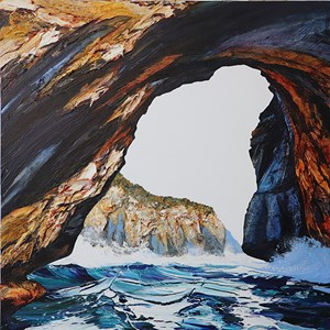 Deep Blue Cave by Neil Frazer contemporary artwork