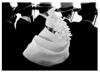 Paris, for Jardin des Modes, Givenchy hat (a) by Frank Horvat contemporary artwork photography