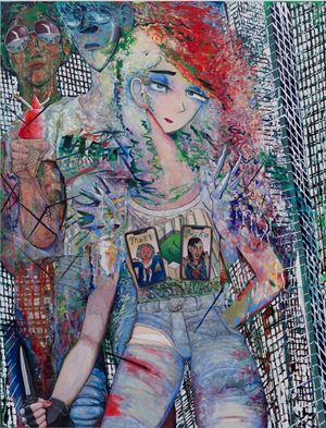 Jagged heart by Koichi Enomoto contemporary artwork