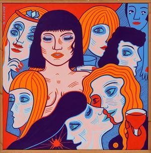Oslo Girls by Christopher Battye contemporary artwork